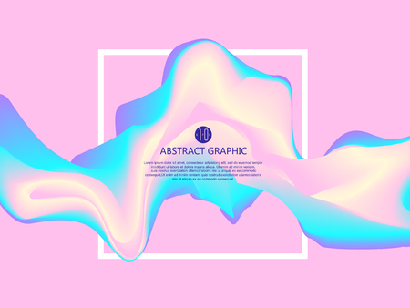 Abstract light, graphic design.