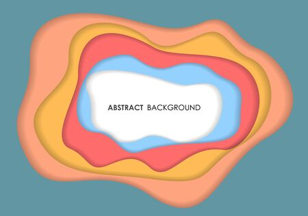 Overlay abstract background, vector illustration. Illustration