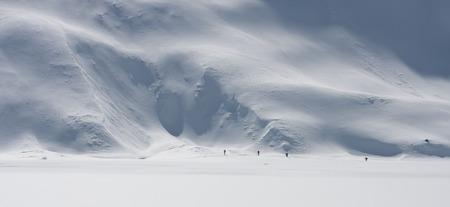 Trekking in the Austrian Alps   Stok Fotoğraf