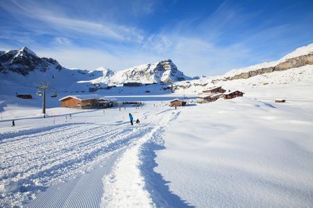 Alpine ski facility