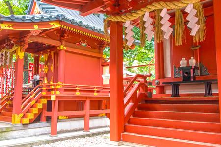 Shrine interior place for worship Stok Fotoğraf