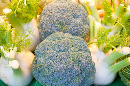 Broccoli and fennel