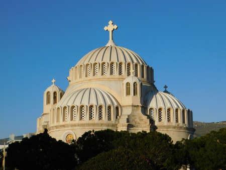 The church of Aghios Constantinos or Saint Constantine, in Glyfada, Greece