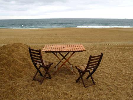 forniture: Woods, mobiliario en la playa