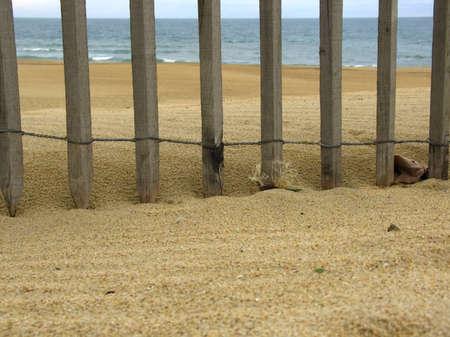 enclosure: Enclosure on the beach