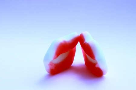 nack: Red lips of sugar