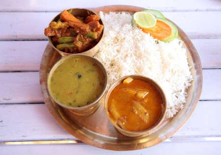 sop: Typical food of Nepal