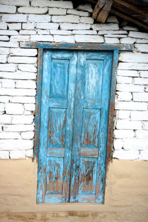 inclined: Inclined door