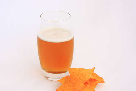aperitive: Fresh beer   snack