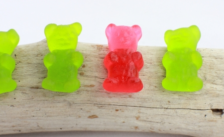 nack: Jelly bean bears