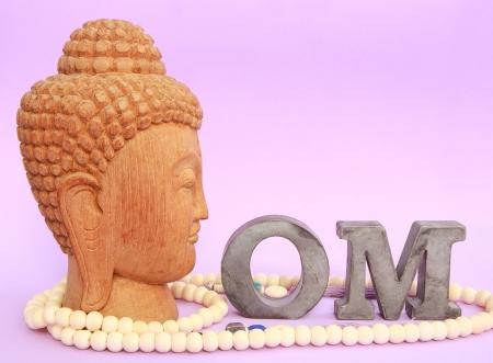 Buddha with OM