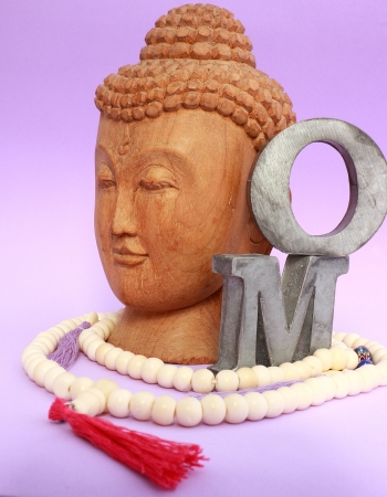 Necklace and buddha