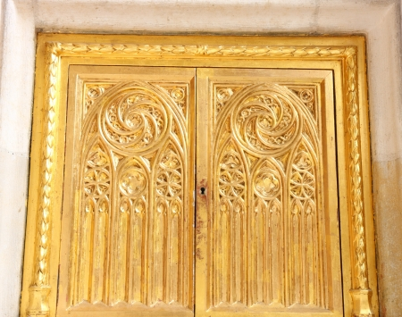 Golden tabernacle Stock Photo - 18509252