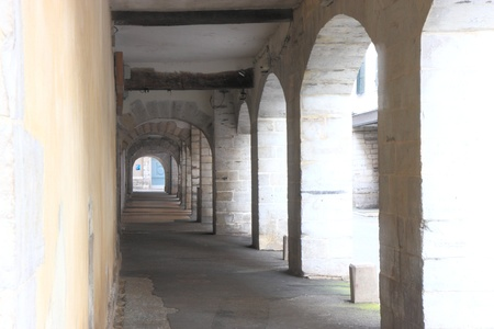 passageway: Passageway in Bayonne-France