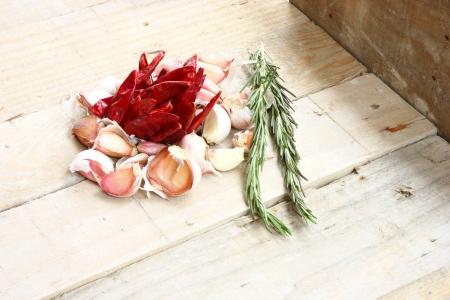 garlics: Rosemary   garlics