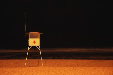 guard house: Guard house on the beach