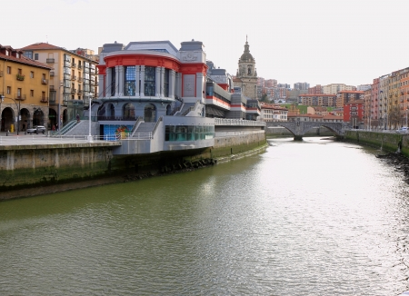 architectonics: Market in the river