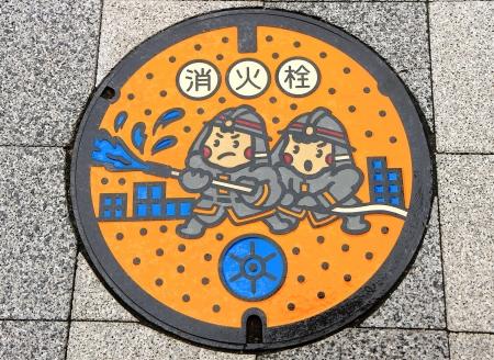 Funny manhole cover Stock Photo - 25411428