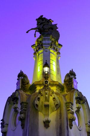 Colored bridge - San Sebastian
