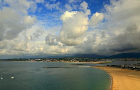 Hondarribia beach-Txingudi bay