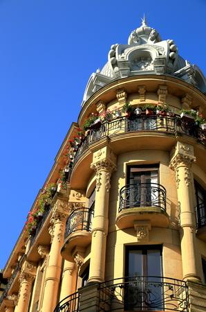 xx century: Prim street corner-Donostia