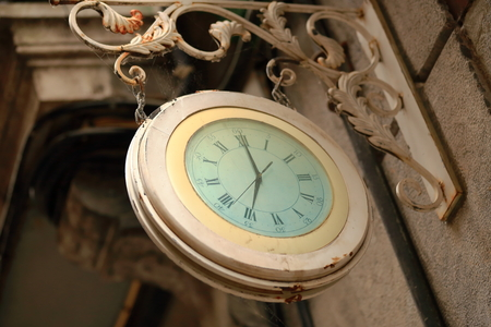 Vintage clock-Tolosa-Spain photo