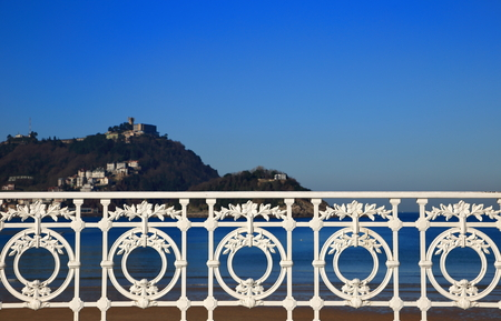 San Sebastian-The railing