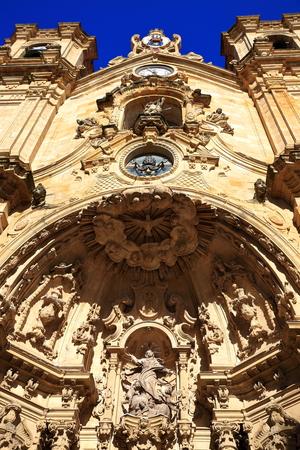 santa maria: Santa Maria church-Donostia