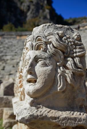 antik: TurkeyLycia coastMyra