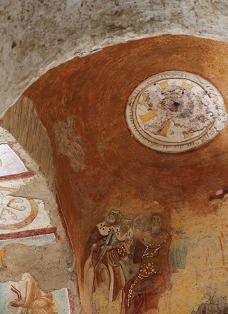 antik: Saint Nicholas church-Turkey Editorial