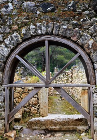 antik: Old arch-archaeological site-Turkey