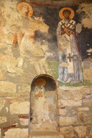 antik: Saint Nicholas church-Lycia coast-Turkey