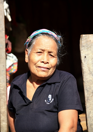 LUANG NAMTHA,LAOS-OCTOBER 06, 2015:  Local on October 06, Luang Namtha, Laos.