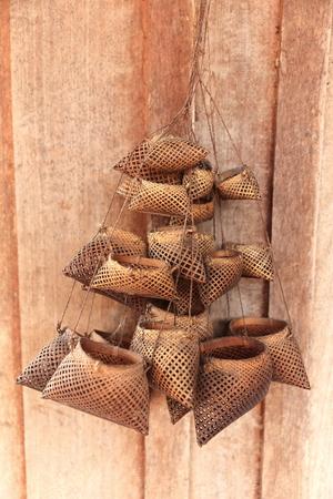 hanging baskets-luang namtha-laos