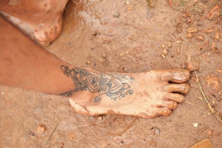 tatoo on foot