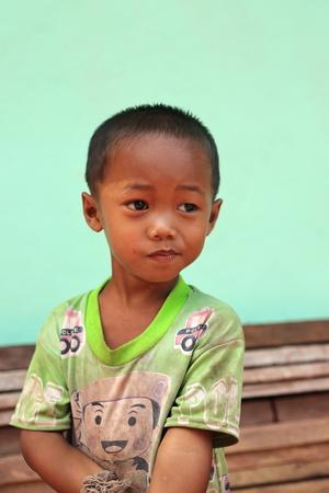 LUANG NAMTHA,LAOS-OCTOBER 06, 2015:  Local at Luang Namtha, Laos. Editorial