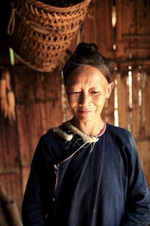 LUANG NAMTHA,LAOS-OCTOBER 07, 2015:  Local at Luang Namtha, Laos.
