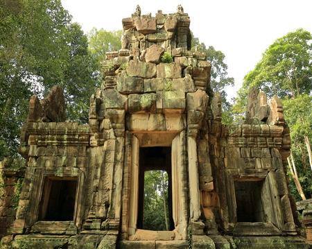 elephants terrace-angkor thom-cambodia