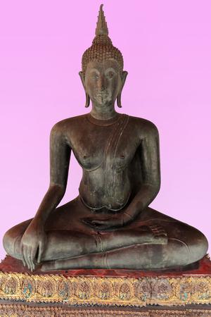 buddha-wat pho-bangkok Stock Photo