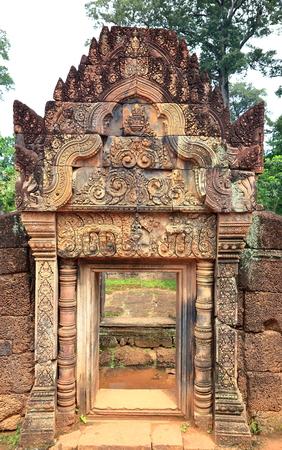 banteay srei-angkor II Stock Photo
