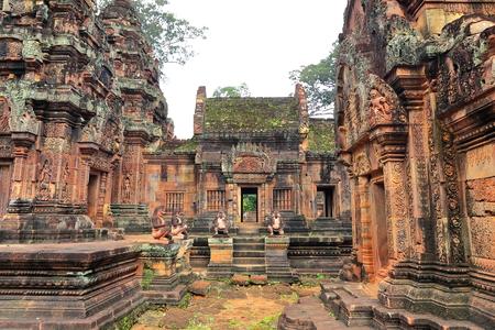 banteay srei-cambodia II Stock Photo