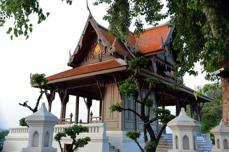 temple in the city-bangkok