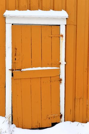 yellow door-lofoten