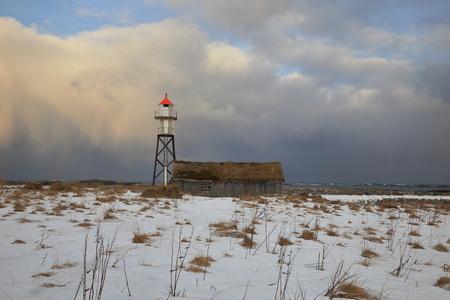 lighthouse in lofoten,norway
