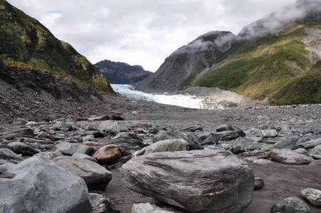 frans: Frans josef glacier in New Zealand