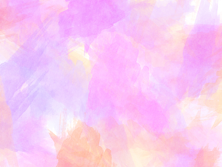 Abstract Pink watercolor background.