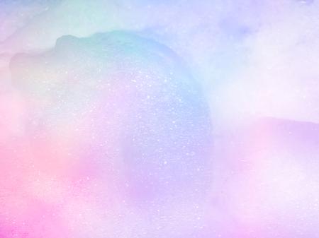 Abstract pastel Bubble foam background. 免版税图像