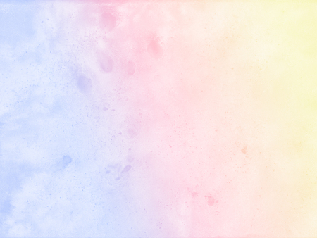 抽象的なパステル水彩画の背景。