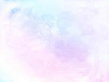 Abstract pastel watercolor background. Stock Photo