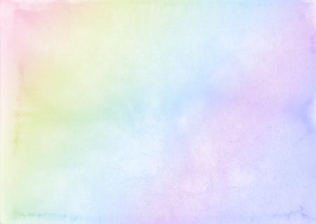 Abstract pastel watercolor background. Standard-Bild